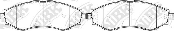 Колодки гальмівні дискові  арт. PN0374