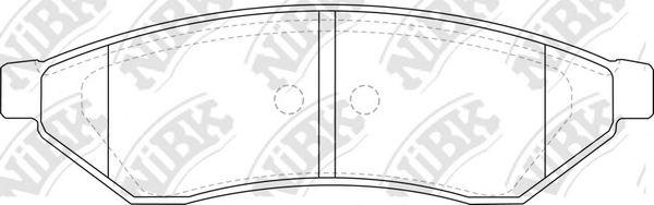 Колодки гальмівні дискові  арт. PN0375