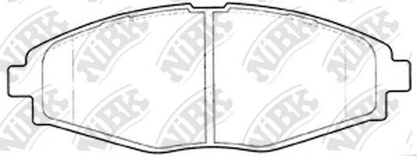 Колодки гальмівні дискові  арт. PN0390