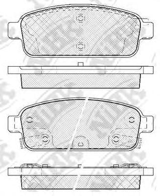 Колодки гальмівні дискові  арт. PN0392