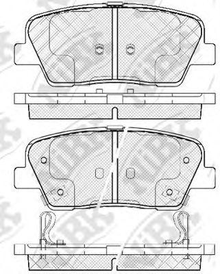 Колодки гальмівні дискові  арт. PN0415