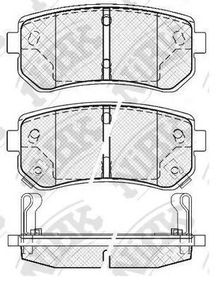 Колодки гальмівні дискові  арт. PN0436