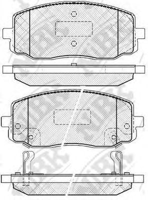 Колодки гальмівні дискові  арт. PN0438