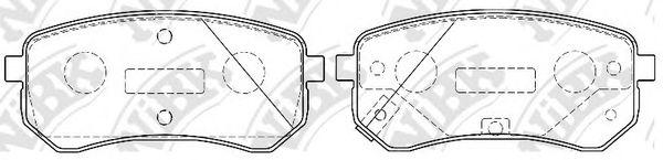 Колодки гальмівні дискові  арт. PN0526