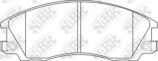 Колодки гальмівні дискові  арт. PN0853
