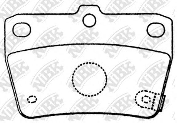 Колодки гальмівні дискові  арт. PN1424