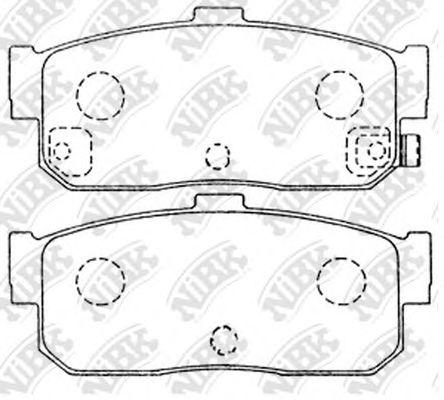 Колодки гальмівні дискові  арт. PN2224