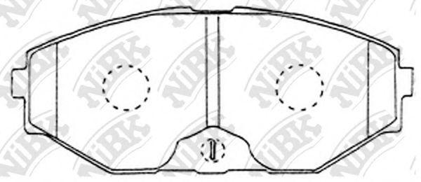 Колодки гальмівні дискові  арт. PN2261