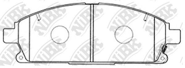 Колодки гальмівні дискові  арт. PN2389