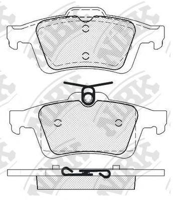 Колодки гальмівні дискові  арт. PN2702