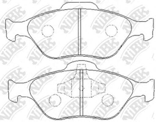Колодки гальмівні дискові  арт. PN5495