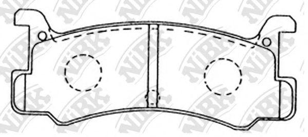 Колодки гальмівні дискові  арт. PN6353