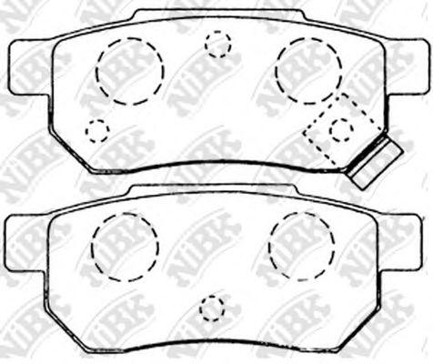 Колодки гальмівні дискові  арт. PN8206