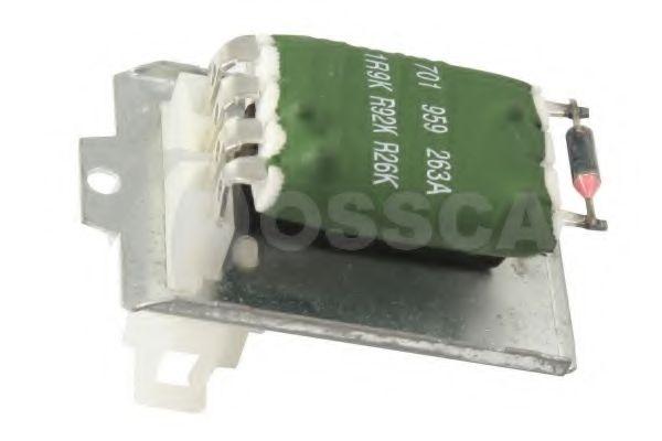 Сопротивление вентилятора салона обмежник OSSCA арт. 00325