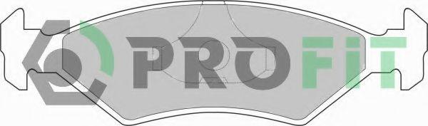 Колодки гальмівні дискові  арт. 50000206