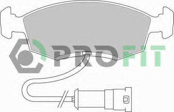 Колодки гальмівні дискові  арт. 50000276
