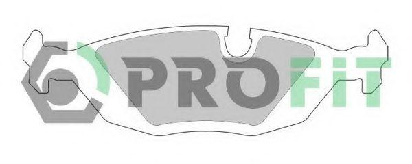 Колодки гальмівні дискові  арт. 50000296