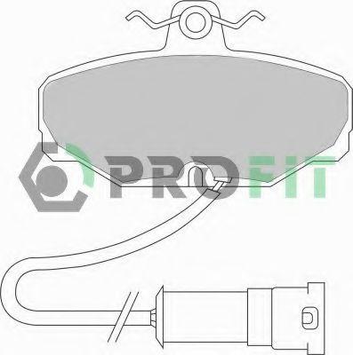 Колодки гальмівні дискові  арт. 50000408