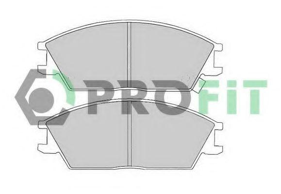 Колодки гальмівні дискові  арт. 50000435