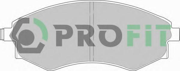 Колодки гальмівні дискові  арт. 50000600