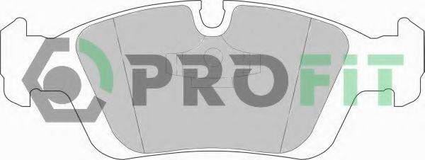 Колодки гальмівні дискові  арт. 50000725