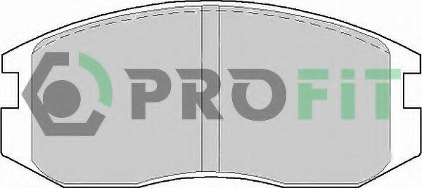 Колодки гальмівні дискові  арт. 50000759