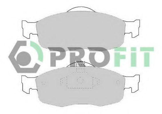 Колодки гальмівні дискові  арт. 50000884
