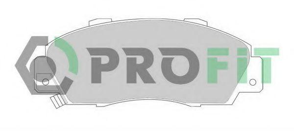 Колодки гальмівні дискові  арт. 50000905