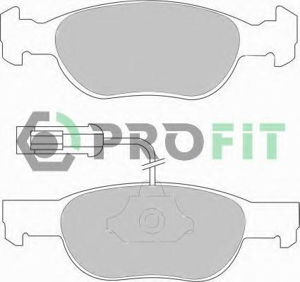 Колодки гальмівні дискові  арт. 50001040