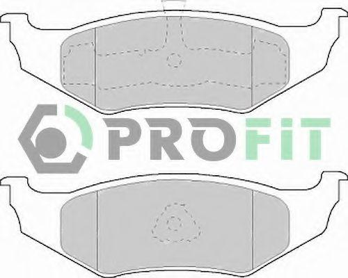 Колодки гальмівні дискові  арт. 50001099