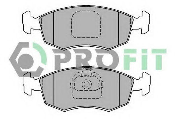 Колодки гальмівні дискові  арт. 50001376