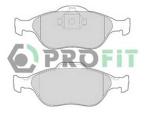 Колодки гальмівні дискові  арт. 50001394