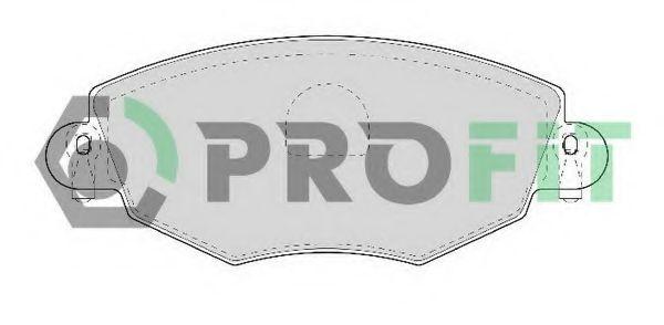 Колодки гальмівні дискові  арт. 50001425