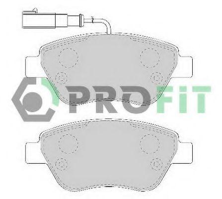 Колодки гальмівні дискові  арт. 50001466