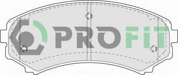 Колодки гальмівні дискові  арт. 50001603