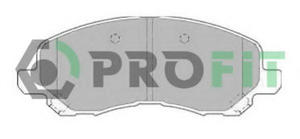 Колодки гальмівні дискові  арт. 50001621
