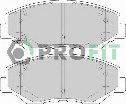 Колодки гальмівні дискові  арт. 50001658