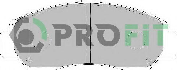 Колодки гальмівні дискові  арт. 50001669