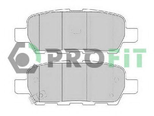 Колодки гальмівні дискові  арт. 50001693