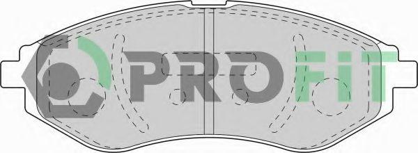 Колодки гальмівні дискові  арт. 50001699