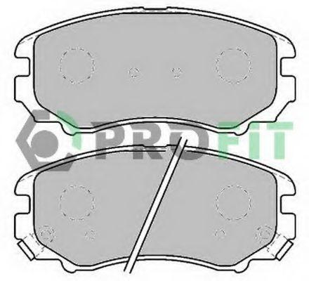 Колодки гальмівні дискові  арт. 50001733C