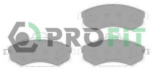Колодки гальмівні дискові  арт. 50001737