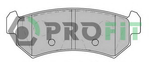 Колодки гальмівні дискові  арт. 50001889