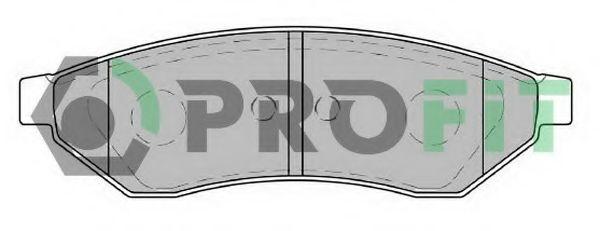 Колодки гальмівні дискові  арт. 50001986