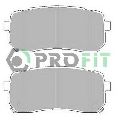 Колодки гальмівні дискові  арт. 50002026