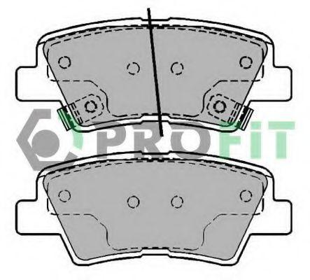 Колодки гальмівні дискові  арт. 50002028