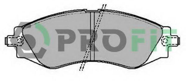 Колодки гальмівні дискові  арт. 50002049