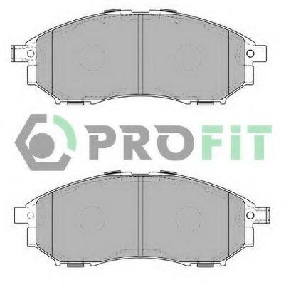 Колодки гальмівні дискові  арт. 50004177