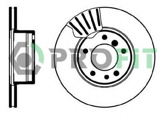 Диск гальмівний  арт. 50100211