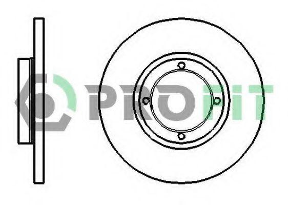 Диск гальмівний  арт. 50101076